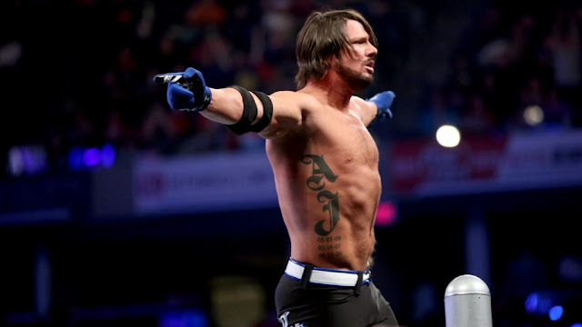 A.J. Styles Workout Routine and Physique