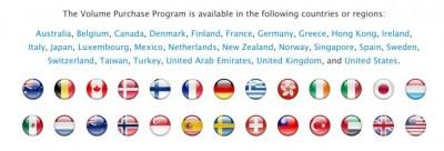 Apple Perluas VPP App Store ke 16 Negara Baru