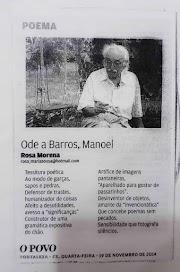 Ode a Barros, Manoel*
