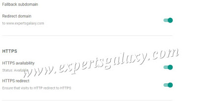 Enable Blogger HTTPS Availability & Redirect