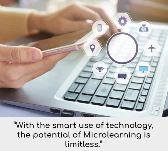 Microlearning Tip Let Your Fingers Do the Talking