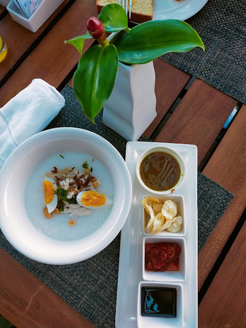 Sarapan di Residence Bintan