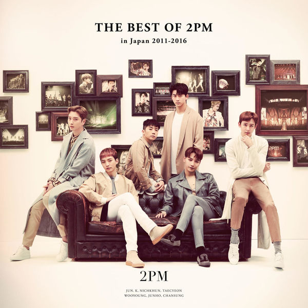 2PM – THE BEST OF 2PM in Japan 2011-2016