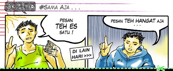 axstrip#Sama Aja_page1_by Ax!