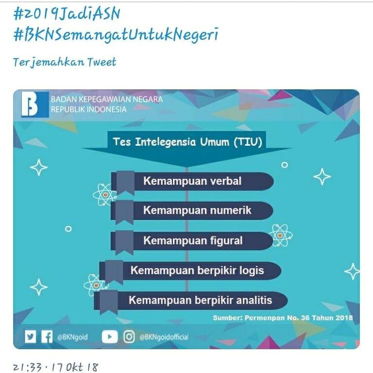Info Cpns Pppk 2021 Pelajaran Bahasa Indonesia Kisi Kisi Soal Tes Cpns 2019