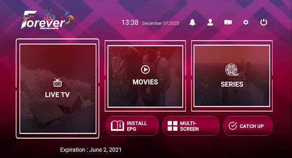 Forever IPTV + Premium Activation