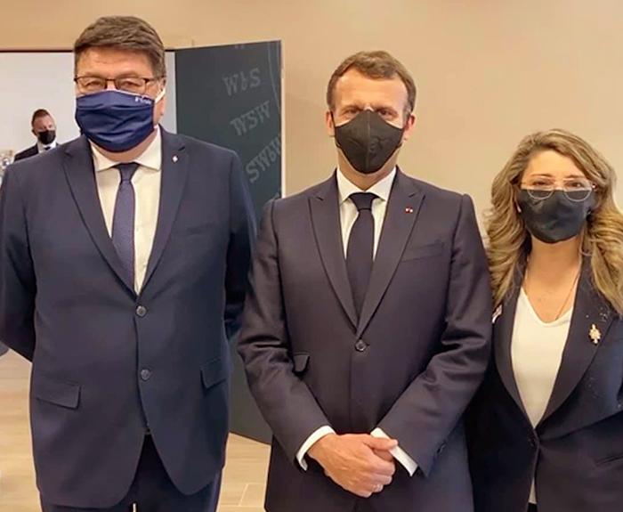 Macron à Pérols
