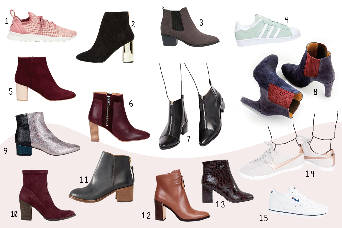 Sélection shopping chaussures automne