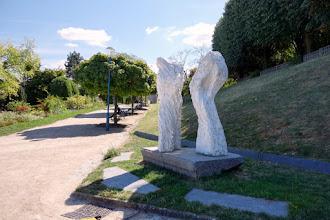 Paris : Monument aux victimes d'Afrique du Nord, une oeuvre d'Eugène Dodeigne - XIXème