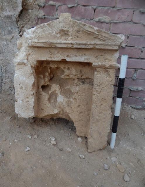 Ελληνιστικός τάφος βρέθηκε στην Αλεξάνδρεια