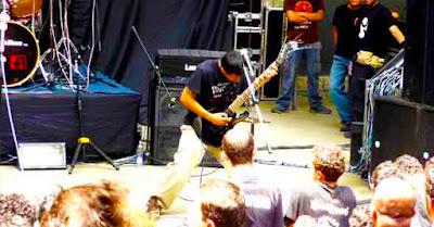 Brutal Death Metal Guitar Player