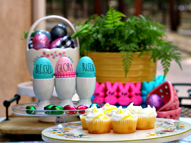 Easter,eggs, rae, dunn, colorful, easy, outdoor, tablescape, athomewithjemma.com