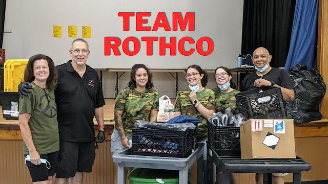 Rothco Volunteer Day at Gerald Ryan Outreach Center
