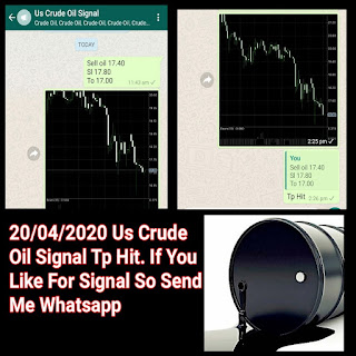 20-04-2020 Forex Trading Commodity Crude Oil Signal Prices Today Alerts