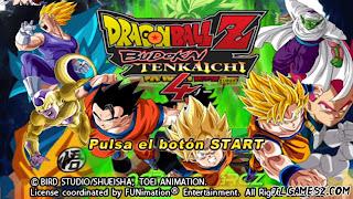 DRAGON BALL Z  TENKAICHI TAG TEAM ISO LATINO V3 PPSSPP DBZ TTT