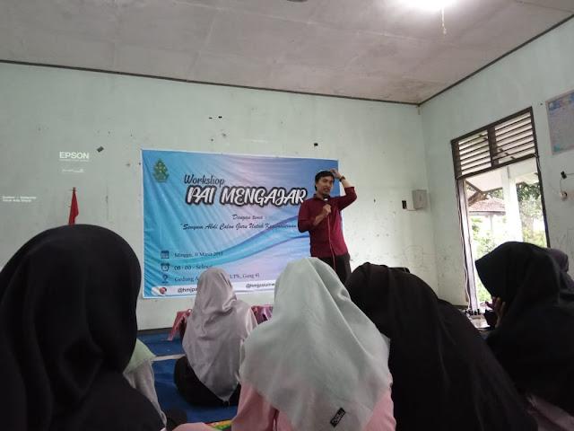 Persiapkan Bekal Mengajar,  HMJ PAI Menggelar Workshop