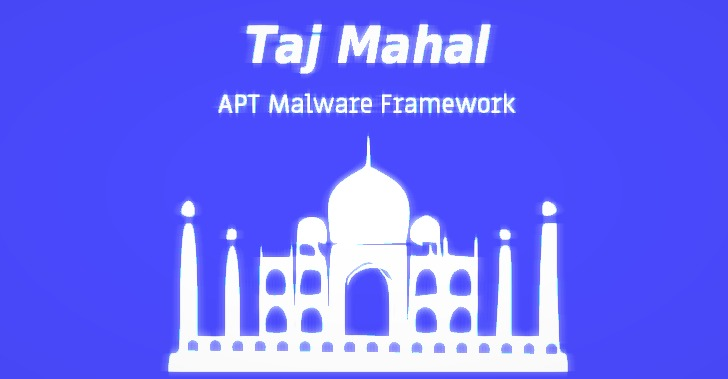 Sophisticated 'TajMahal APT Framework' Remained Undetected for 5 Years