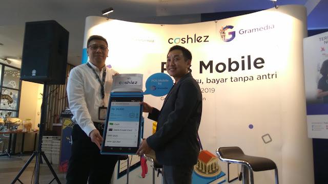 Kolaborasi Toko Buku Gramedia dengan Cashlez untuk transaksi pembayaran buku yang efisien (dok.windhu)