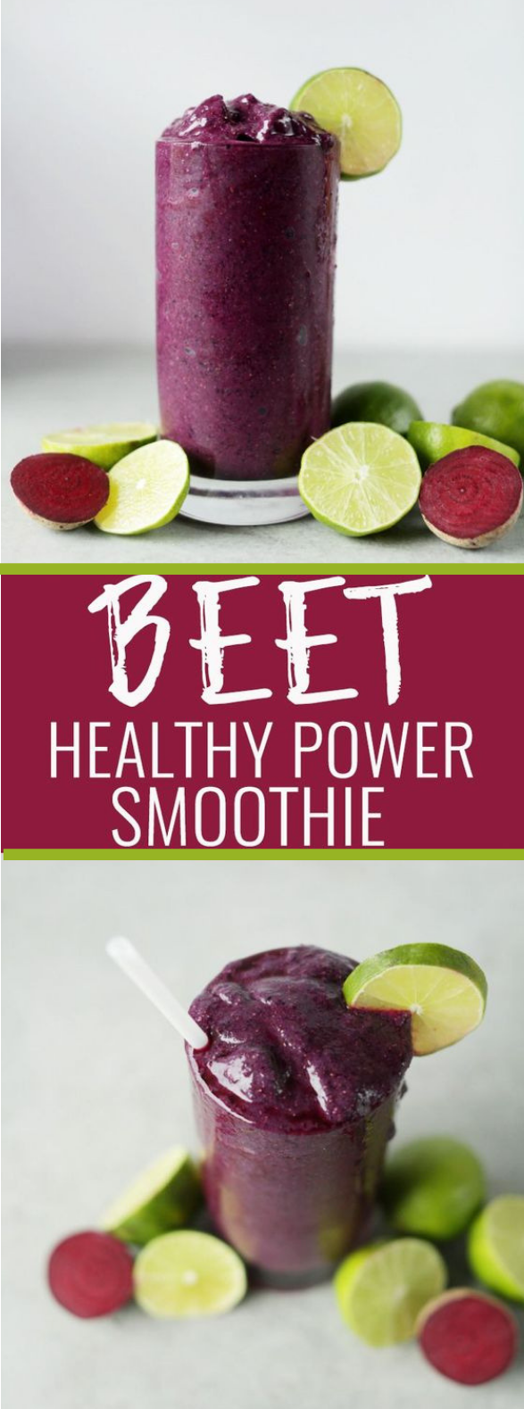 BEET THE COLD POWER SMOOTHIE #smoothie #healthydrink