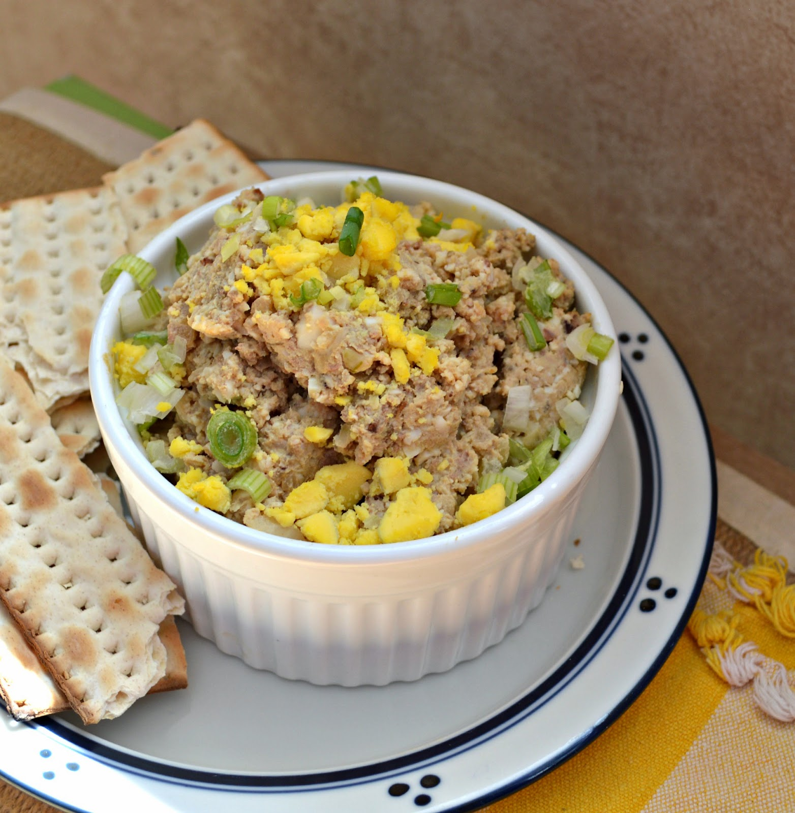 Chopped Liver might not sound good but honestly it is the best. Though I make it just a few times a year and it is basically liver, hard boiled eggs and onion, it is divine. Trust me on this! #Jewishrecipes #choppedliver #appetizers www.thisishowicook.com