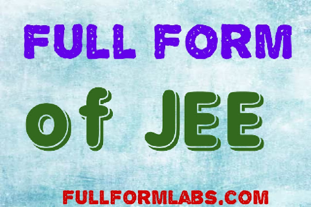 JEE full form