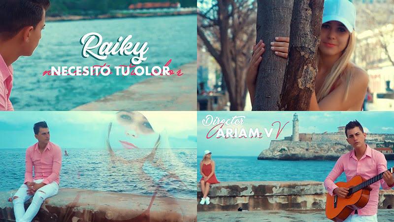 Raiky - ¨Necesito tu olor¨ - Videoclip - Dirección: Ariam V. Portal del Vídeo Clip Cubano