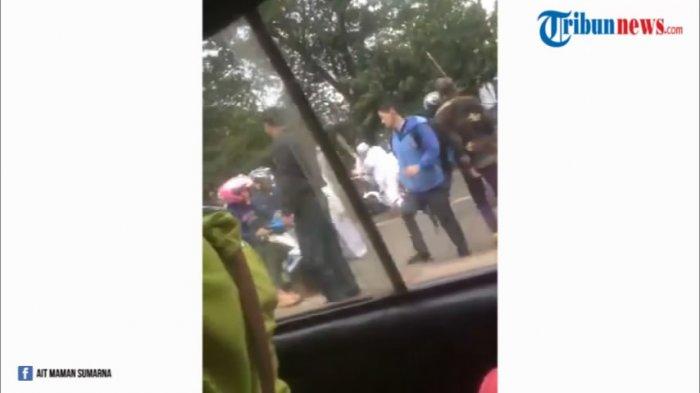 Video Aksi Brutal Bentrok Ormas GMBI-FPI yang Beredar di Media Sosial