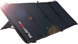 Protected Foldable Solar Panel