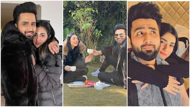 Most Beautiful Pictures Sarah Khan And Falak Shabir - Reviewit pak