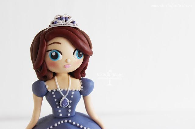 Tutorial Princesa Sofía fondant