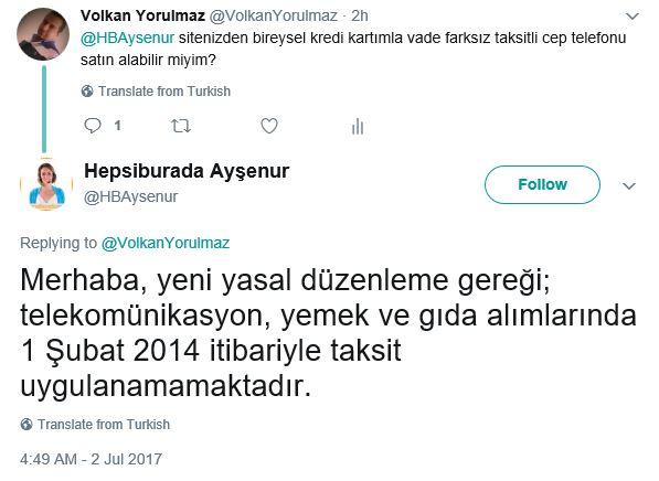 Volkan Yorulmaz: Kredi Kartı ile Taksitli Cep Telefonu ...