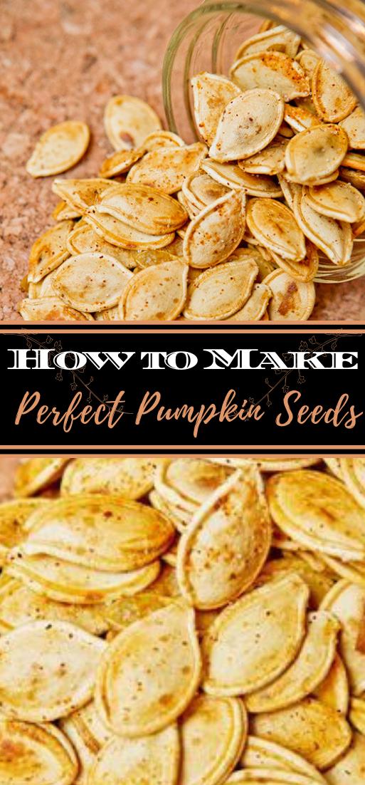 How to Make Perfect Pumpkin Seeds #healthyfood #dietketo #breakfast #food