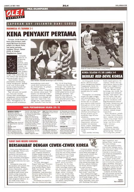 INDONESIA VS TAIWAN 2-1 KENA PENYAKIT PERTAMA
