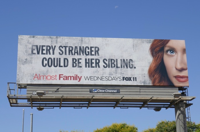 Almost Family season 1 billboard
