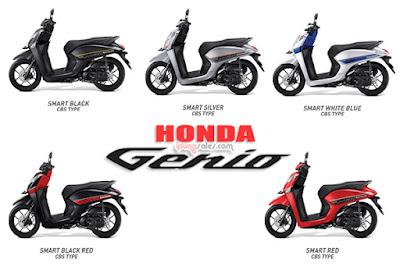 Varian-Warna-Honda-Genio-Type-CBS