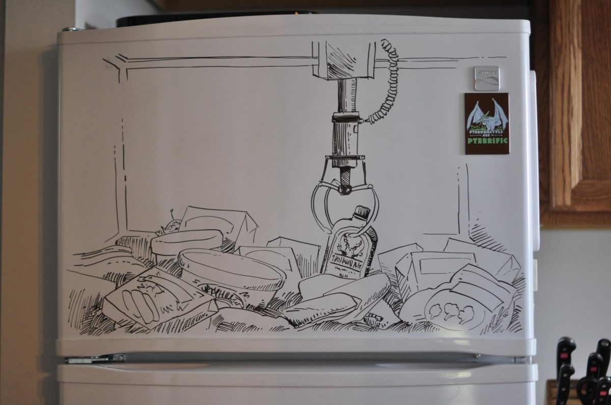 03-Freezer-Arcade-The-Claw-Charlie-Layton-Freezer-Door-Drawings-and-Illustrations-www-designstack-co