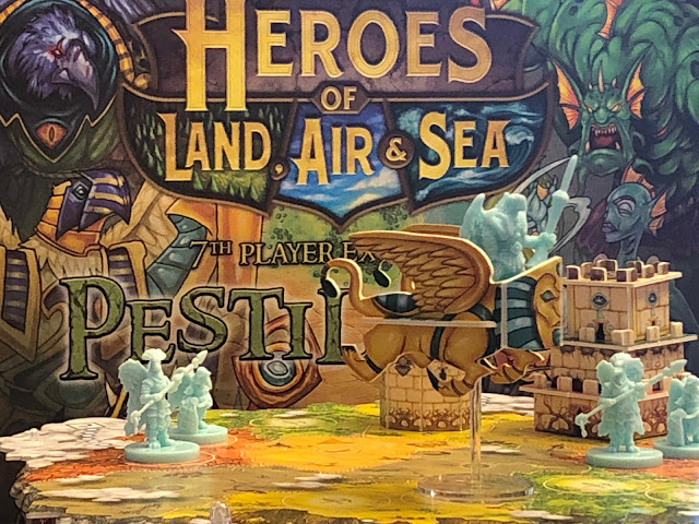 Heroes of Land, air & Sea Board Game Pestilence Expansion; Photo by Benjamin Kocher 2020