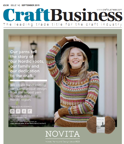 Craft Business Magazine Feature – September 2019