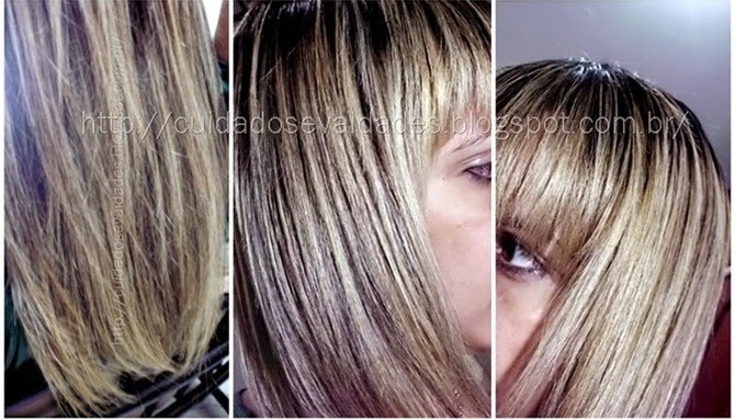 Tonalizar luzes ou mechas antigas com Color Perfect 12.89