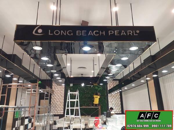 Thi công bảng hiệu Long Beach Pearl tại Phú Quốc