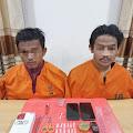 Miliki 12 Paket Sabu-sabu, 2 Pemuda Tembilahan ini Diamankan Sat Narkoba Polres Inhil