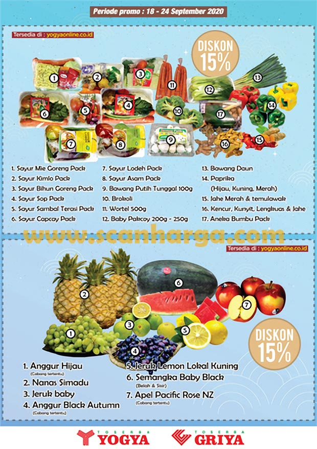 Katalog Promo Toserba Yogya 18 September - 1 Oktober 2020 4