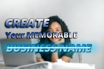 create a memorable business name