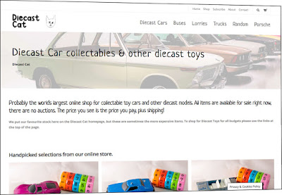 Diecast Cars website