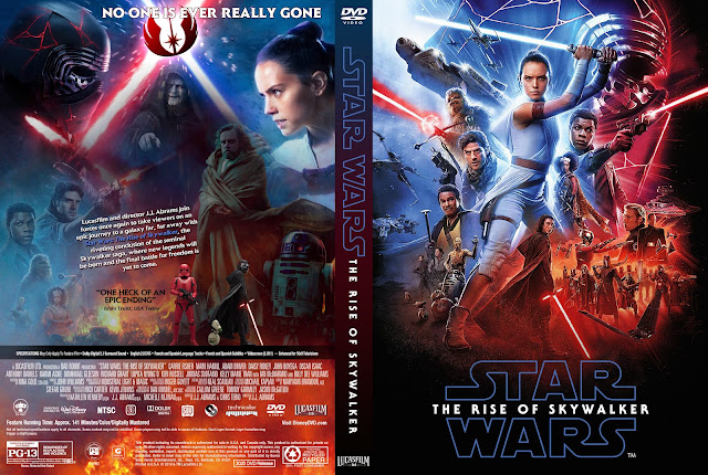 Star Wars: Episode IX - The Rise of Skywalker DVD Cover