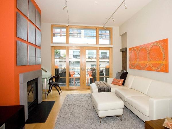 sala laranja