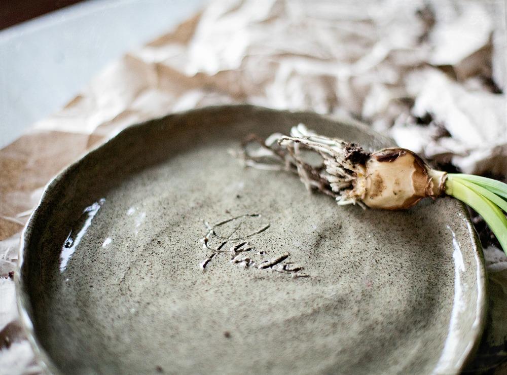 handmade, keramiikka, ruukku, kukkaruukku, diy, itse tehty, narsissit, sipulikasvit