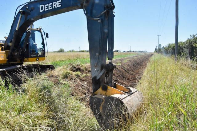 La Municipalidad avanza en nuevas obras de saneamiento y alcantarillado en la ciudad