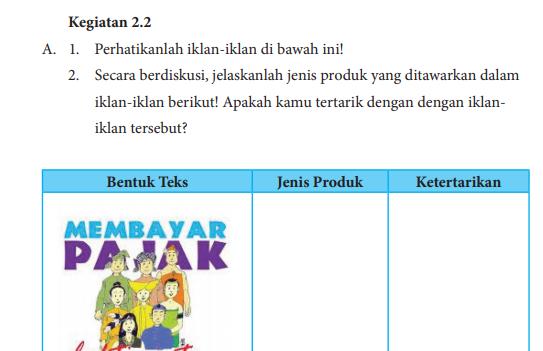 Jawaban Buku Bahasa Indonesia Kelas 8 Kegiatan 2 2 Hal 32 33 Jelaskan Makna Slogan Pentium Sintesi