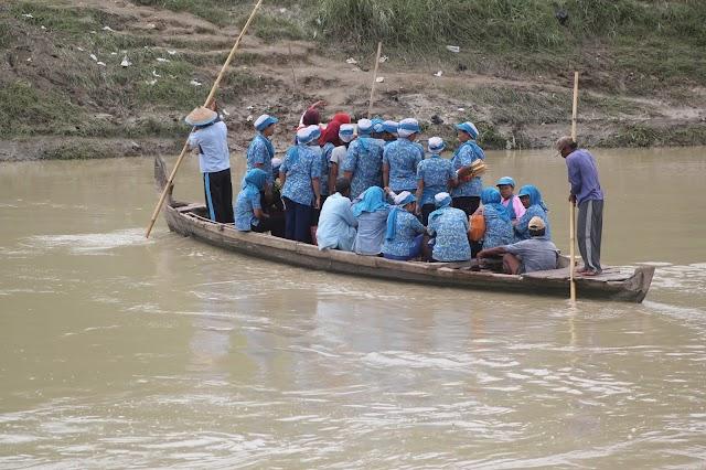 Jembatan Ogal Agil Setrokalangan Lenyap Tak Berbekas